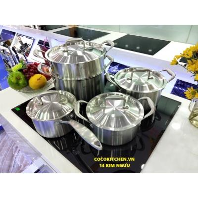 Bộ nồi từ 5 món Soochi cao cấp -Made in Germany