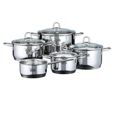 Elo RUBIN Stainless steel pot 5 pcs