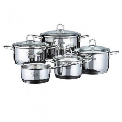 Elo RUBIN Stainless steel pot 5 pcs