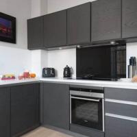 Tủ bếp gỗ An Cường Melamine Acrylic