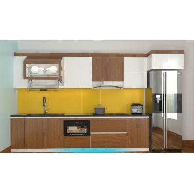 Tủ bếp Melamine gỗ MFC Minh Long