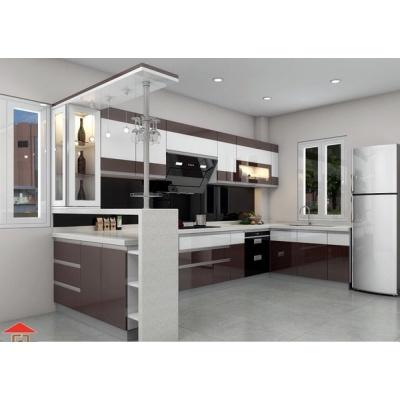 Tủ bếp Acrylic Picomat