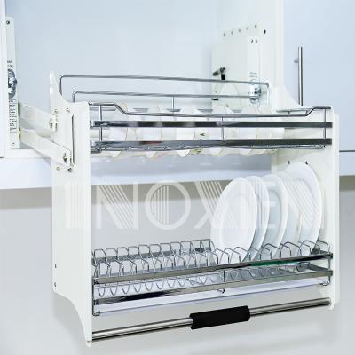 Giá bát đĩa nâng hạ INOXEN Inox 304 HB04