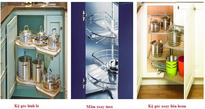 phụ kiện tủ bếp inoxen