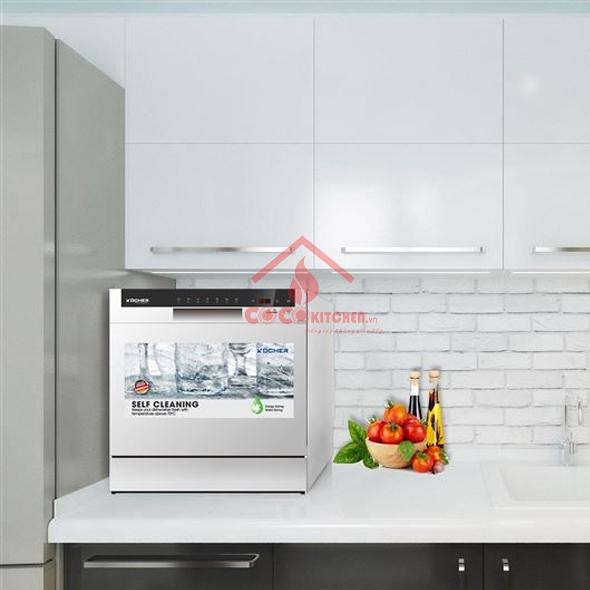 Máy rửa bát kocher DW08EU-8838