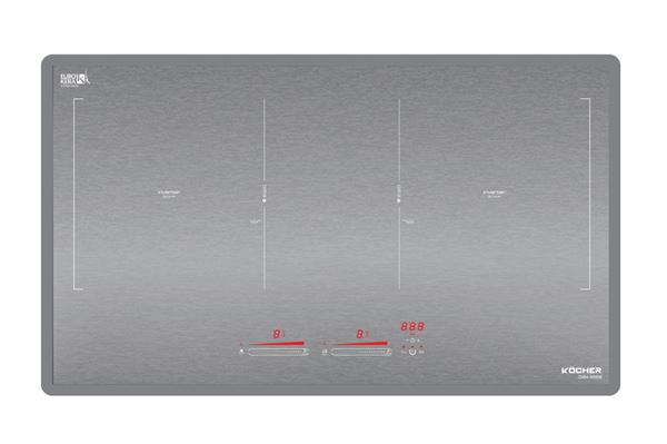 Bếp từ Kocher DIB4-888MI: Sử công nghệ Brush Pattern, đây là mặt kính công nghệ chống xước, đang là hot trend nhất trên thị trường.