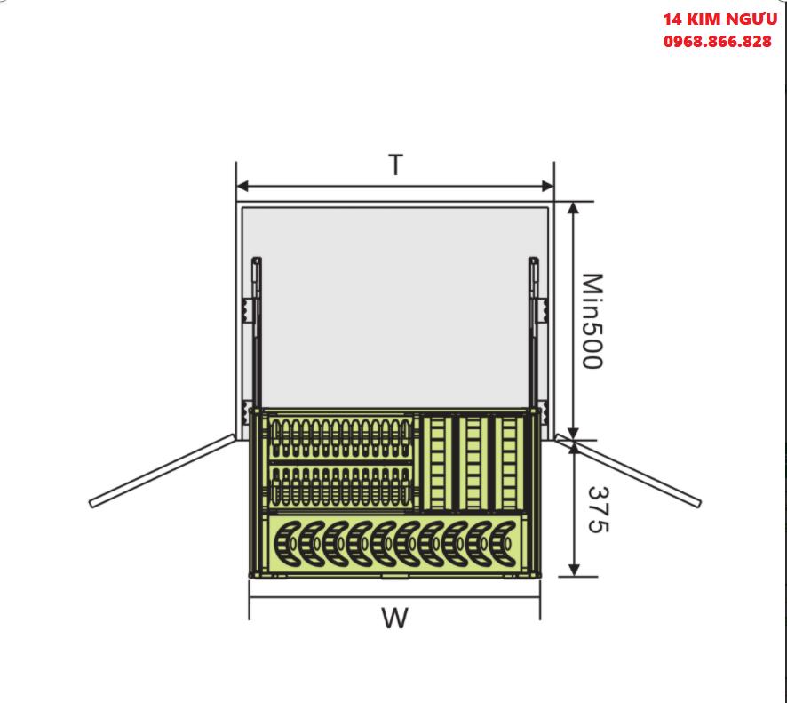 thông số ký thuật phụ kiện tủ bếp grob