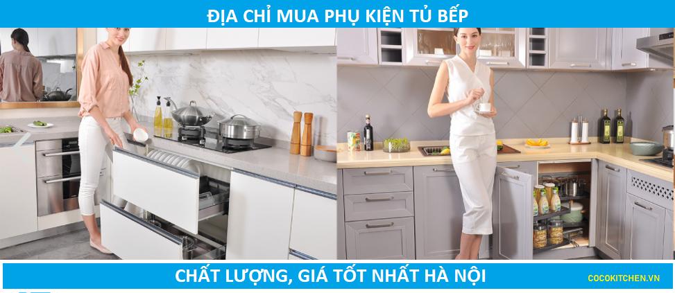 Địa chỉ mua phụ kiện tủ bếp chính hãng tại Hà Nội